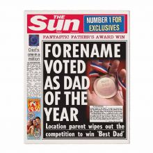 The Sun Best Dad Newspaper
